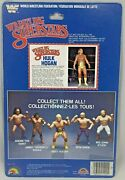 Wwf Ljn Hulk Hogan Backing Card Only For Figure 1984 Great Condition Grand Toys