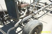 1928 1929 Ford Model A Frame Drive Train Motor Trans Column Rolling Chassis Part