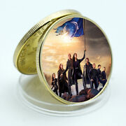 Star Trek Collective Coin Gold Plated Office Accessories Birthday Souvenir Gifts