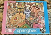 Springbok Jigsaw Puzzle Cookie Tins By Kelly Daniels New Unopened 500 Pieces