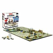4d Cityscape Jigsaw Puzzle - London City Map With Time Layer Nib Factory Sealed