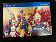 Blazblue Central Fiction Limited Edition Ntsc Ps4