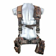 Work Tool Belt Suspenders Drill Tool Belt Nail Pouch Holder Set Made In Korea