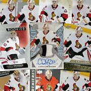 Driedger 10 Rookie Card Lot The Cup Young Guns Exclusives Now W/ Seattle Kraken
