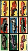 1961 Topps Sports Cars Complete Set 6.5 - Ex/mt+