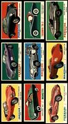 1961 Topps Sports Cars Complete Set 7 - Nm