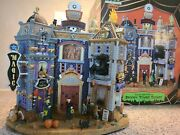 Lemax Spooky Town Collection Towne Square 2010 Magic Pet Shop Hardware Halloween