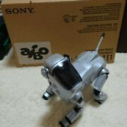 Sony Aibo Ers-111 Digital Robot Dog With Accessories ,software, Box From Japan