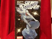 Silver Surfer Statue Art Asylum Numbered Statue 476 Of 2500 Diamond Select / New
