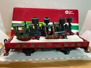 Lgb 42100 Christmas 1997 Flat Car With 4 Gnomy Stainzi Engines G-scale New