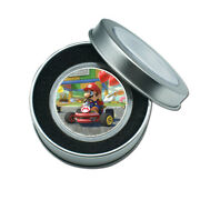 Holiday Gifts Ornament Silver Coin Super Mario Commemorative Metal Coin Craft