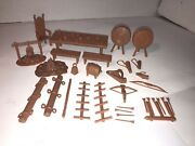 Marx Reissue Knight Playsets Robin Hood Medieval Castle Accessories