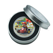 Children's Day Girl Gold Plated Super Mario Commemorative Metal Coin Craft