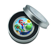 Halloween Children's Gift Gold Plated Super Mario Commemorative Metal Coin Craft