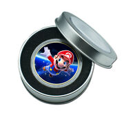 Christmas Gift Art Crafts Gold Plated Super Mario Commemorative Metal Coin Craft