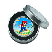 Holiday Gifts For Boys Silver Coin Super Mario Commemorative Metal Coin Craft