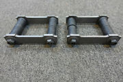 For Mopars. New 65 To 73 C Body Rear Leaf Spring Shackles.