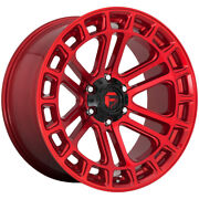 4-fuel D719 Heater 18x9 6x5.5 +1mm Red/machined Wheels Rims 18 Inch