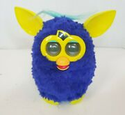 Hasbro 2012 Furby Boom Dark Blue And Yellow Ears And Feet Teal Hair Tested And Working