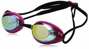 Tyr Blackhawk Racing Femme Mirrored Googles Gold/pink/black Size One Size