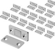 Mousike Magnetic Door Catch Ultra Thin Cabinet Magnets Stainless Steel Drawer