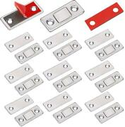 Cabinet Door Magnets Jiayi 10 Pack Ultra Thin Magnetic Door Catch Stainless For