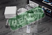Cp Forged Pistons With Hd Pins Acura K24 W K20a/a2/a3 Tsx 87.5mm 9.01