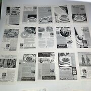Campbell's Soup Ad From National Geographic 1900's - 1930 Lot Of Over 100