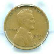 1909-s Vdb Lincoln Cent, Pcgs Vf35, Key Date