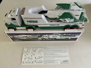 2010 Hess Toy Truck And Jet- New In Box- Tested