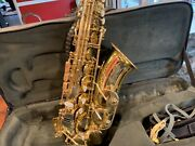 Selmer Super Action 80 Serie Ii Alto Saxophone With Case Great Shape