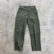 Vintage Military Og-507 Us Army Fatigue Pants - Utility Trousers 34x32 70andrsquos