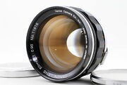 [exc+3] Canon 50mm F/0.95 Dream Lens For 7 7s Leica Ltm L39 From Japan