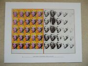 Tate Modern Official Andy Warhol Marilyn Monroe Diptych Mini Poster Pop Art