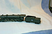 Rivarossi Ho Scale 2-8-2 Locomotive And Tender Needs Some Work