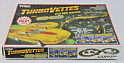 Tyco Turbo Vettes Electric Racing With Nite Glow Set/parts