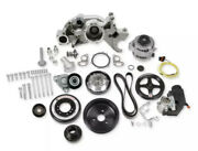 Holley 20-181 Premium Mid-mount Race Accessory System Sfi With Power Steering
