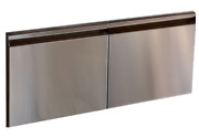 Wolf 42 Stainless Steel Outdoor Grill Double Doors - 814089