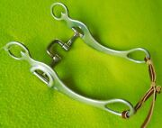 New Cowboy Tackdennis Moreland Bit5 Jointed Square Correction Port Mouth