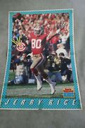 Rare San Francisco 49ers Jerry Rice Sports Illustrated For Kids Poster Nfl