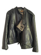 Vintage Leather Jacket Mens 70and039s