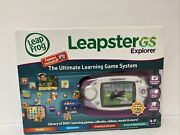 Leapfrog Leapster Gs Explorer Ultimate Learning Game W/ Camera New Purple