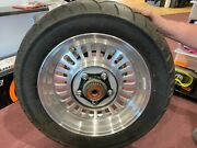 Triumph Motorcycle Oem Rocket Iii Tourer Rear Wheel Assembly Abs Tire And Rotor