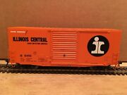 Ho Tangent Illinois Central 40' Ps-1 Mini-hy Cube Boxcar Ic 15452 Metal Wheels