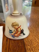 1987 Hummel Annual Bell, 'with Loving Greetings', Tenth Edition W/box, 6.5 Tall