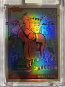 Topps Project 70 Card 558 - Mike Trout By Jeff Staple Foil 65/70