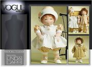 Vogue Doll Collection V8277 / 15 Inch Doll - Sewing Pattern Designed By Linda...
