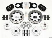 Wilwood Dynalite 4 Piston Front Brake System Ford Mustang P/n 140-11072-d