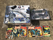 Dc Comics Batman Lionchief M7 Subway Set Lionel With Add On 2 Pack And Extras