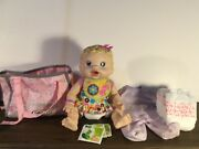 2009 Baby Alive Changing Time Interactive Doll Giggles Kicks Drink Eat Wet Poop